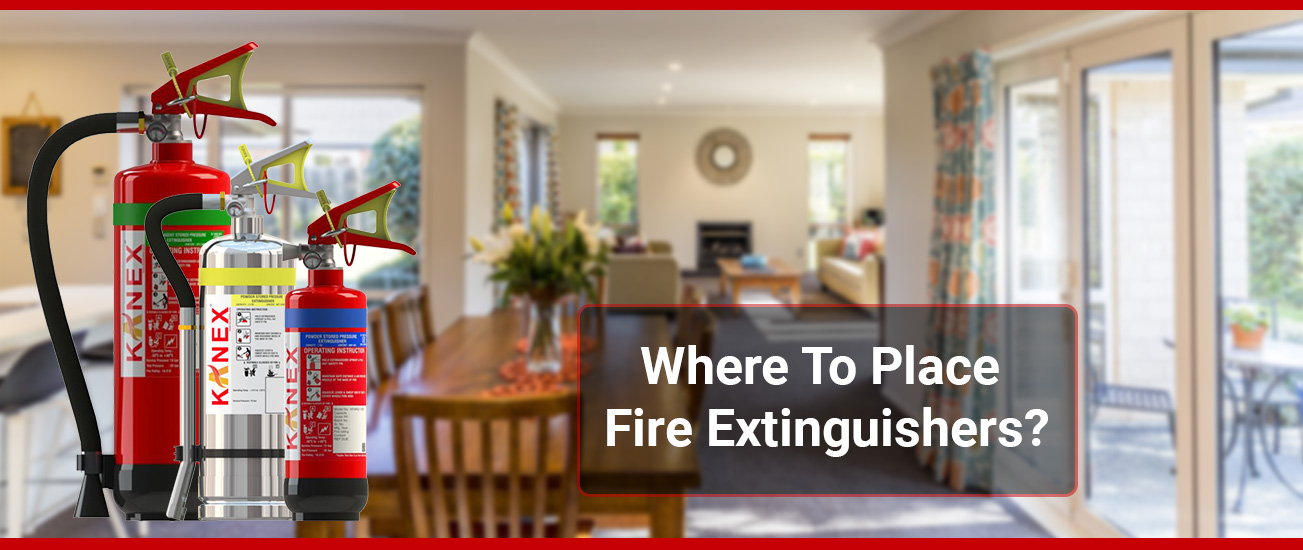 Where To Place Fire Extinguishers?