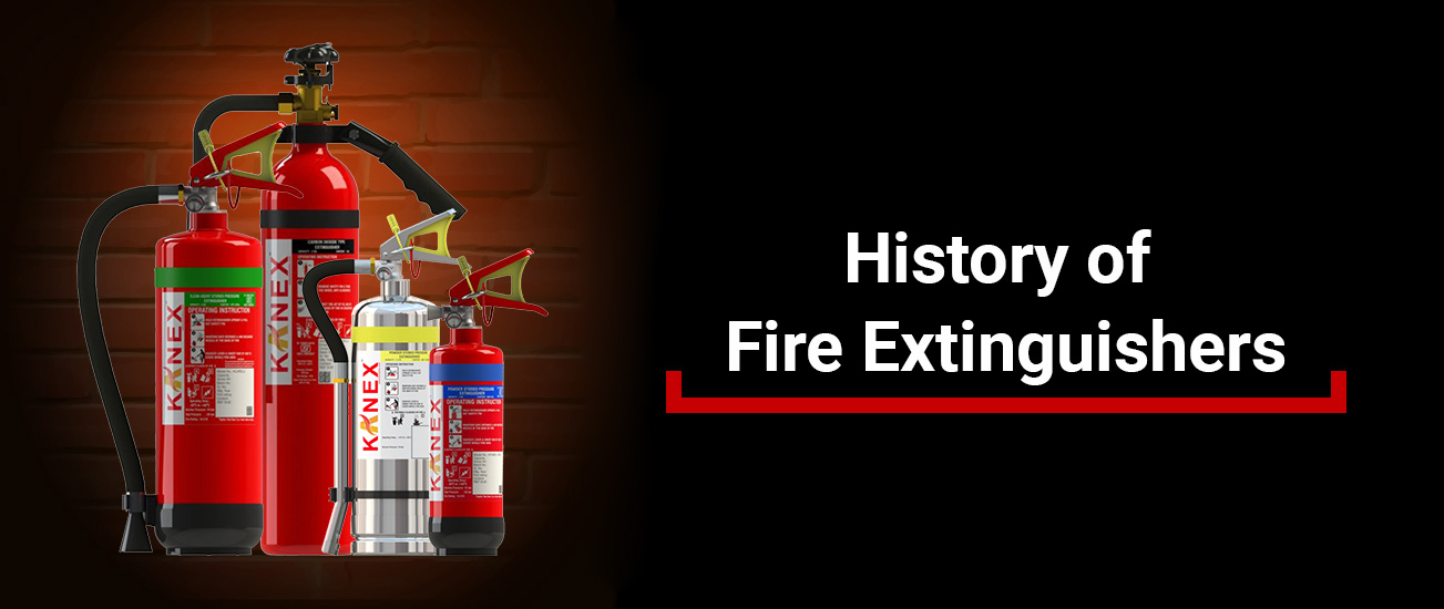 Know about the History of Fire Extinguishers